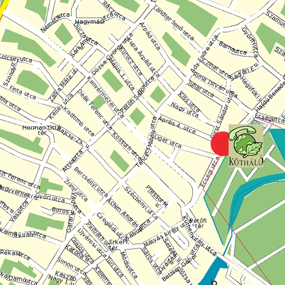 túrkeve térkép Környezeti Tanácsadó Irodák Hálózata túrkeve térkép